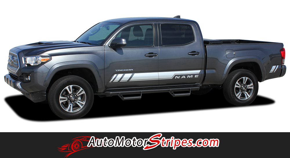 Toyota Tacoma TRD Truck Vinyl Graphic Kits And Decal Striping - Vinyl graphics for trucks