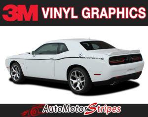 2011-2018 Dodge Challenger SXT Vinyl Graphics Install